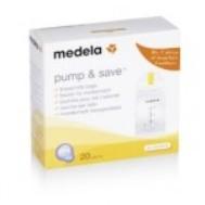 Σακουλάκια φύλαξης μητρικού γάλακτος 20 τεμ. Medela