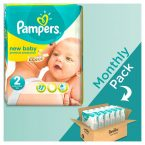 pampers new baby monthly pack 240 temaxia 3-6kg