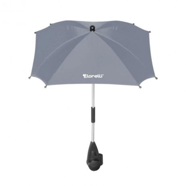 Ομπρέλα με UV προστασία Γκρι Lorelli.