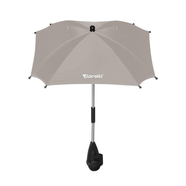 Ομπρέλα με UV προστασία Μπεζ Lorelli
