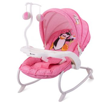 88f7646d83c Ρηλάξ με παιχνίδι Dream Time Lorelli Pink Penguin | 4baby