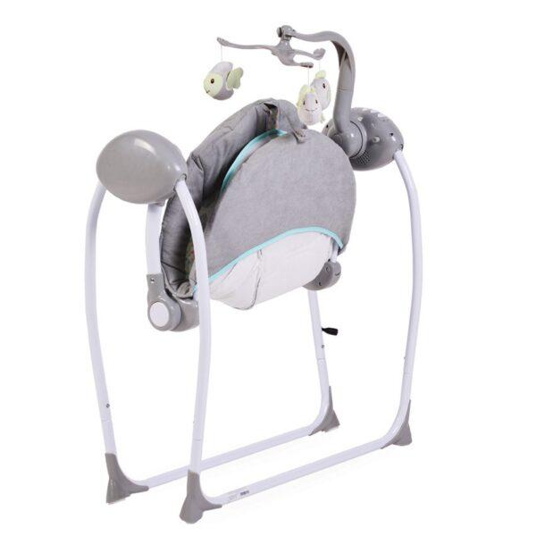 Κούνια Ρηλάξ Cangaroo Baby Swing Plus Grey