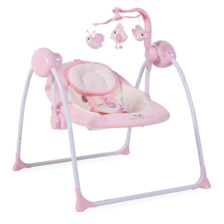 Κούνια Ρηλάξ Cangaroo Baby Swing Plus Pink