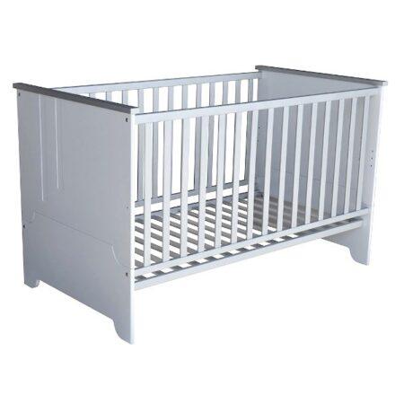 Προεφηβικό μετατρεπόμενο κρεβάτι Lines White 70-140