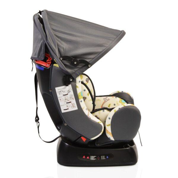Κάθισμα αυτοκίνητου 0-25 kg Cangaroo Guardian Grey