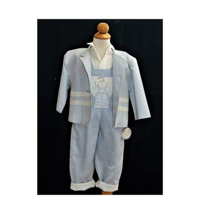 Βαφτιστικό Κουστούμι Σιέλ Stova Bambini 200113
