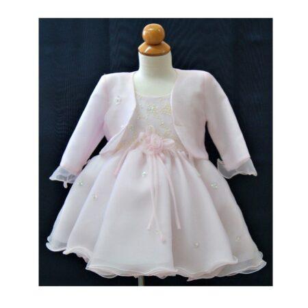 Βαφτιστικό Φόρεμα με μπολερό 100124
