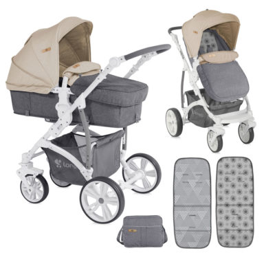 Lorelli Vista Grey & Beige Cities
