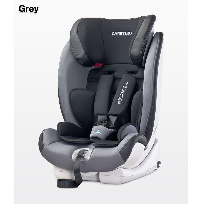 Κάθισμα αυτοκινήτου 9-36kg Caretero VolanteFix Isofix Grey