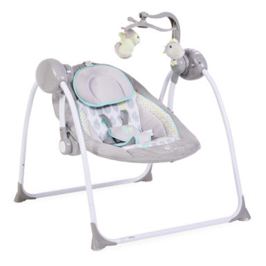 Κούνια Ρηλάξ Cangaroo Baby Swing Plus Grey