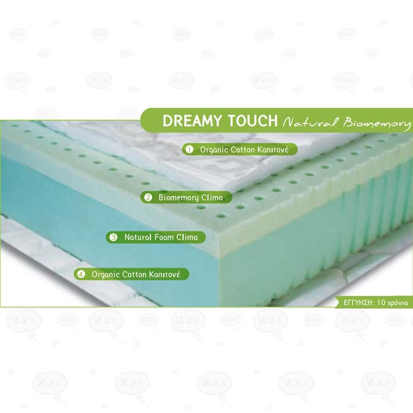 Στρώμα Leader Strom Dreamy Touch Natural Biomemory