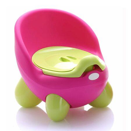 Γιο-Γιο Θρόνος Baby potty Throne Cangaroo Pink